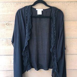 Black BCBGeneration kimono